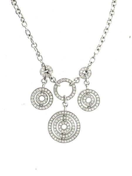Bulgari concentrica diamonds necklace</br>42cm