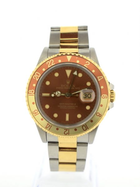 Rolex GMT Master II Tiger Eye </br>40.5mm