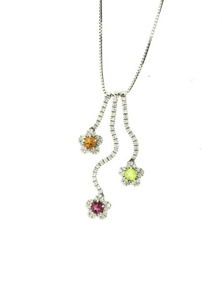 Adamas Jewelry flowers necklace