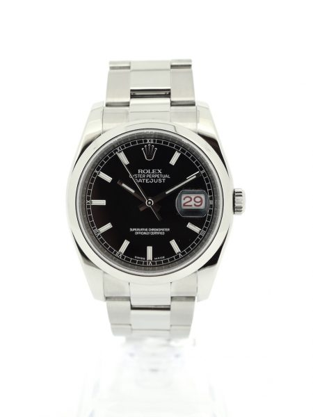 Rolex Datejust black Dial </br>36mm