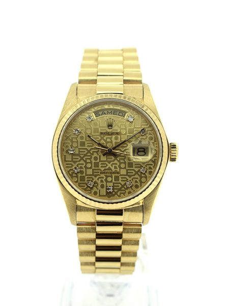 Rolex President Day-Date 18k yellow gold</br>36mm