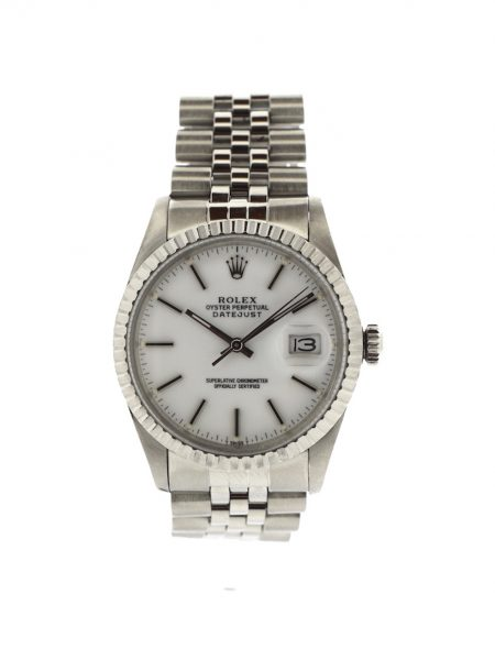 Rolex Datejust White Dial</br>36mm
