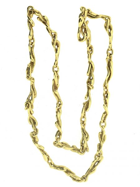 Gilbert Albert yellow gold necklace</br>38cm