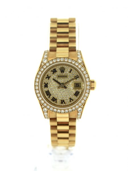 Rolex Datejust Lady President Diamond Dial</br>26mm