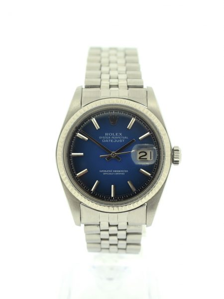 Rolex Datejust blue vignette dial</br>36mm