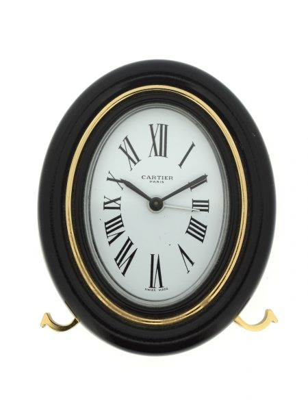 Cartier Desk Alarm Travel Clock</br>9.1x7.3cm